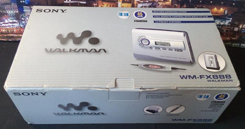 Sony WM-FX888 ของใหม่ มือหนึ่ง