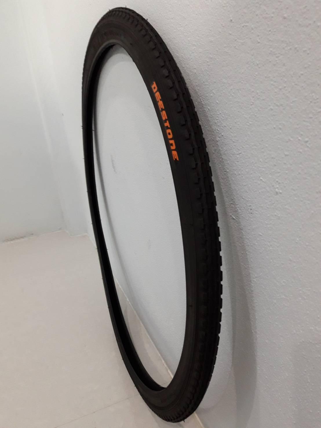 24X1 3/8 D874 สีดํา ยางนอก จักรยาน ย่ีห้อ Deestone