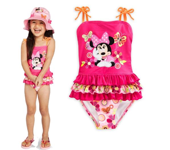ชุดว่ายน้ำ Minnie Mouse Clubhouse Swimsuit [USA]