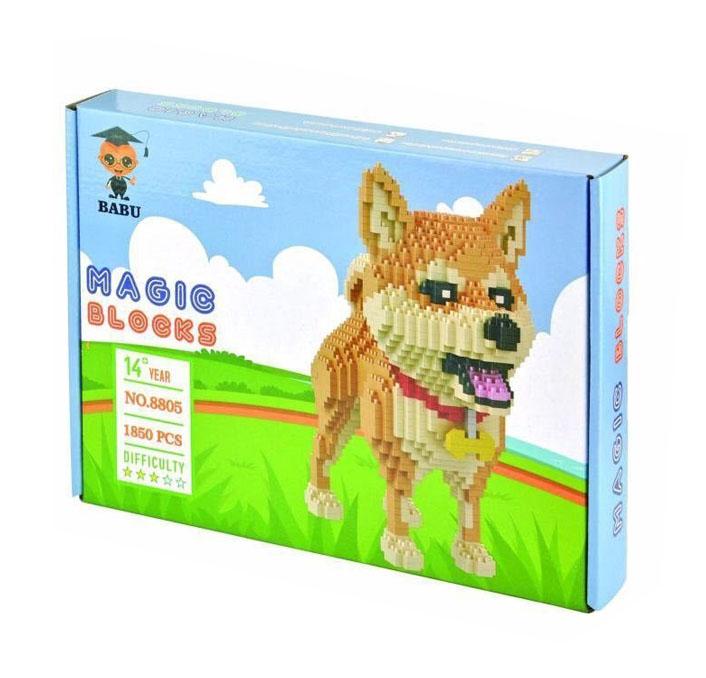 นาโนบล็อค :สุนัขพันธุ์ Shiba Inu No.Babu 8805