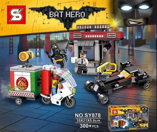 เลโก้จีน SY878 ชุด BATMAN Movie: Scarecrow™ Special Delivery