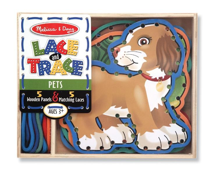 ร้อยเชือกแสนสนุก Melissa and Doug Lace and Trace - สัตว์เลี้ยง