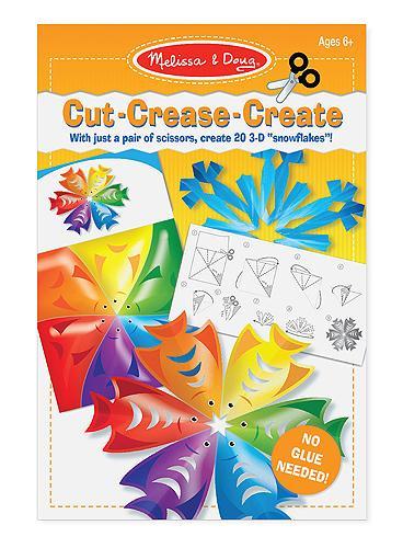 ตัดพับแสนสนุก Cut Crease Create - Snowflakes