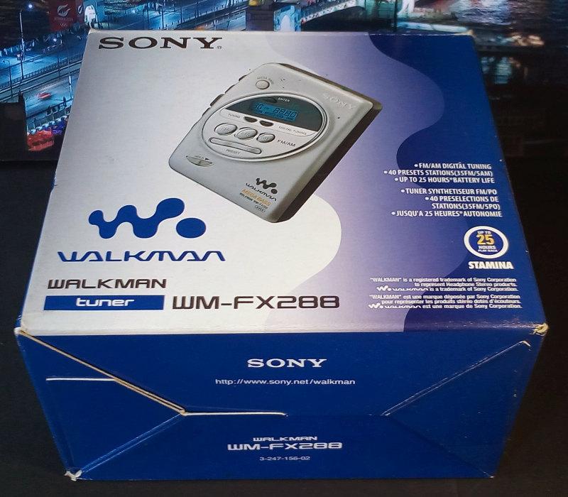 Sony WM-FX288 ของใหม่ มือหนึ่ง