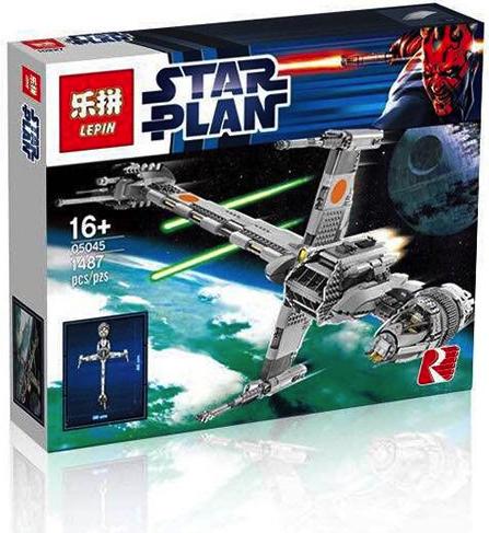 เลโก้จีน Lepin 05045 ชุด B-wing Starfighter