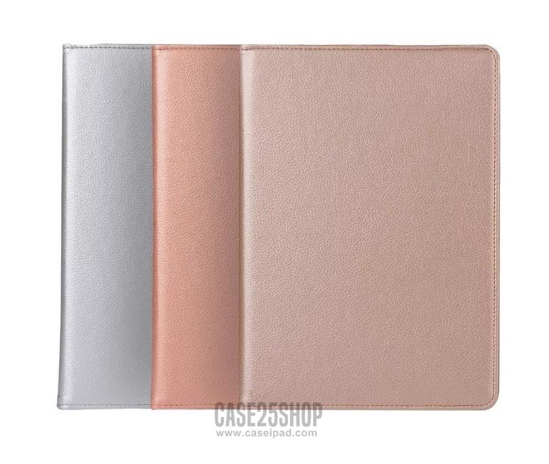 เคสหมุนได้ 360 องศา สีทอง,เงิน,Rose Gold (เคส iPad 2/3/4)