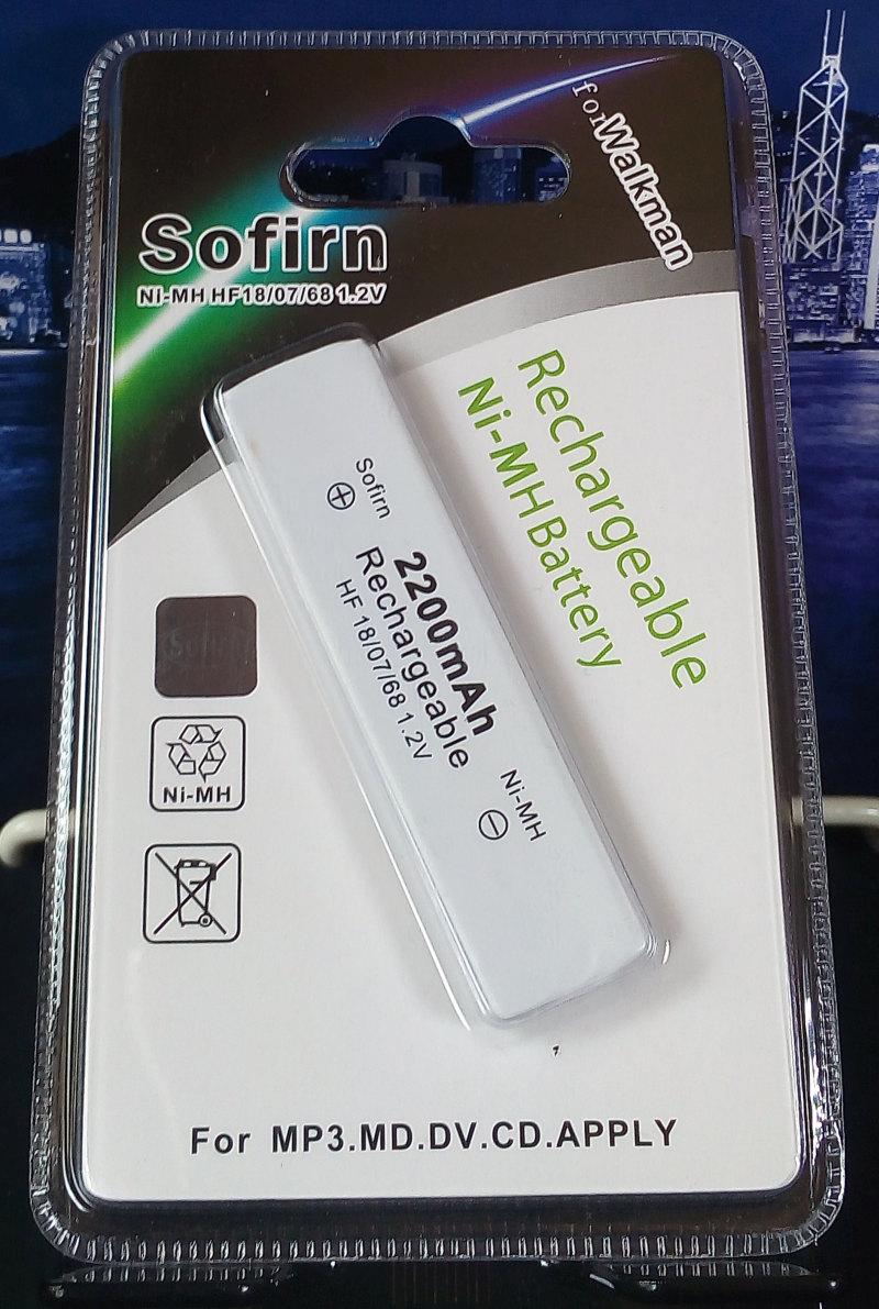 แบตหมากฝรั่ง ของใหม่ Sofirn 2200 mAh