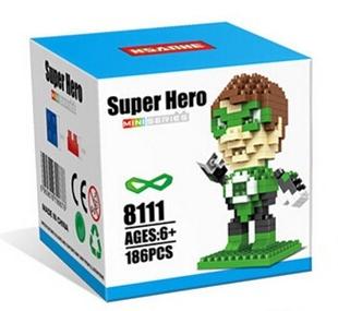 Nanoblock : Green Lantern
