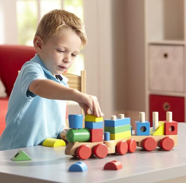 รถไฟไม้หรรษา Stacking Train