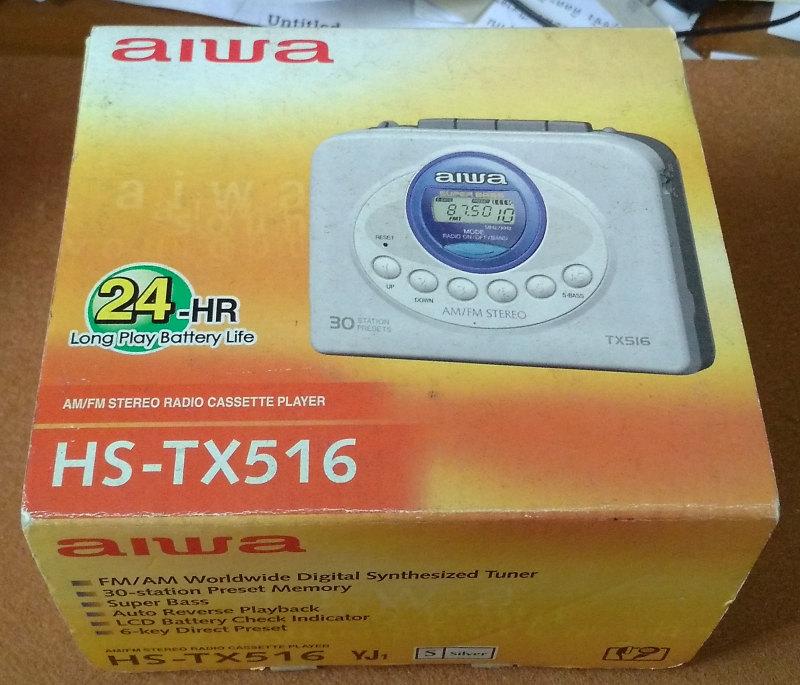 aiwa HS-TX516 มือหนึ่ง