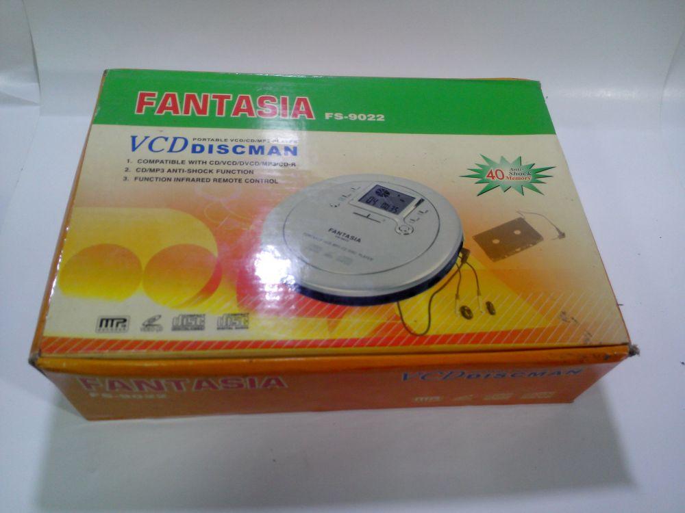 เครื่องเล่น CD VCD MP3 FANTASIA ของใหม่ (จอดำ)