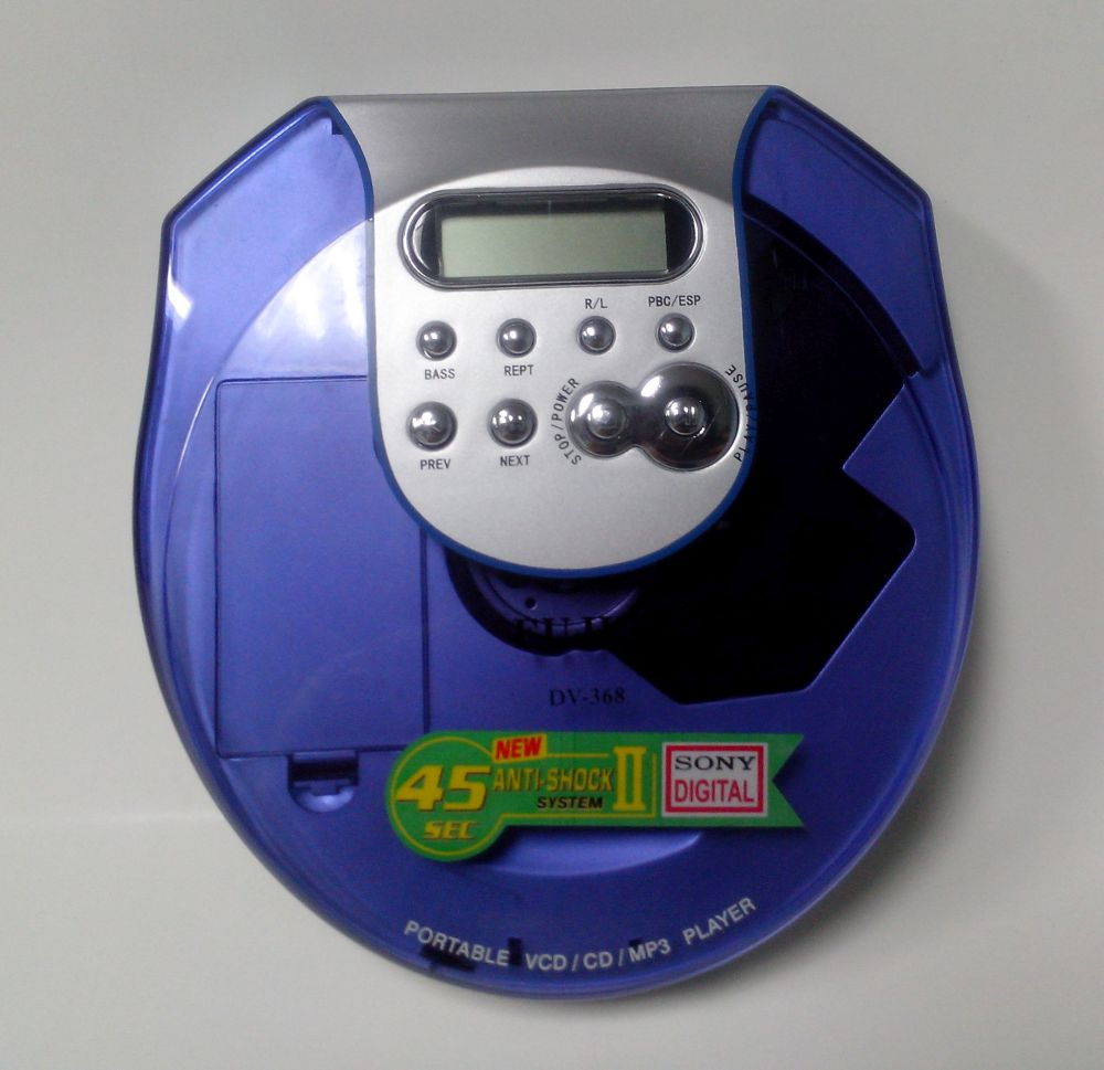 CD, VCD พกพามือหนึ่ง คละรุ่น
