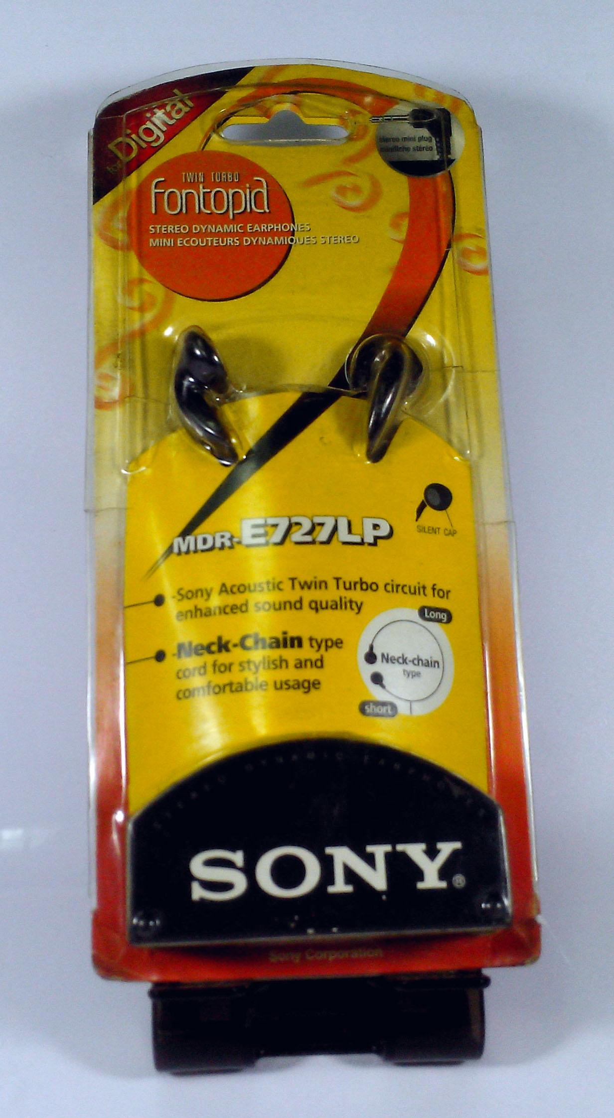 Sony MDR-E727LP มือหนึ่ง