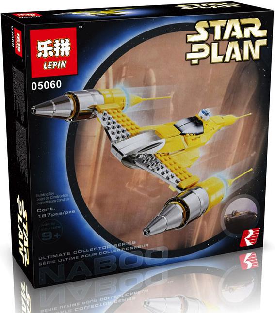 เลโก้จีน Lepin 05060 ชุด Naboo Starfighter