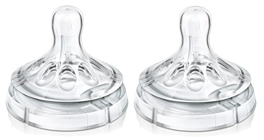 จุกนมPhilips Avent Variable Flow Natural Nipple แพ็ค 2