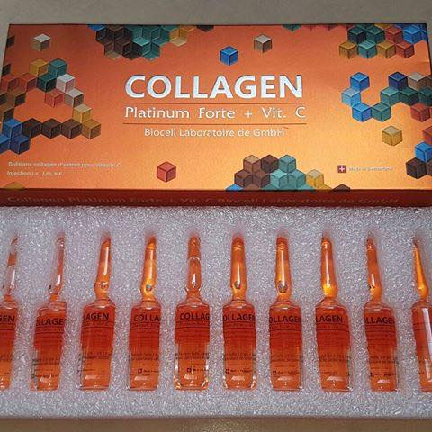 Collagen Platinum Forte 1.0 gm + Vit. C 2.0 gm/5 ml. C