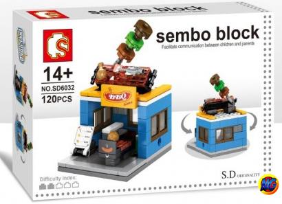 Sembo Block SD6032 : Bar B Q