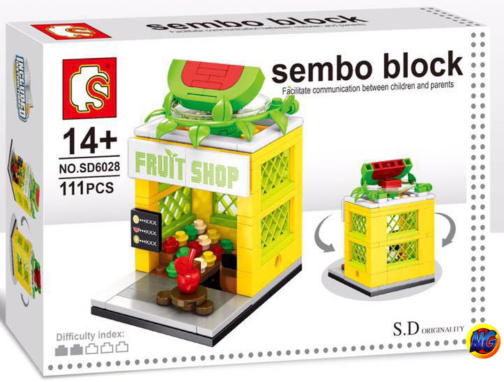 Sembo Block SD6028 ร้าน Fruit Shop