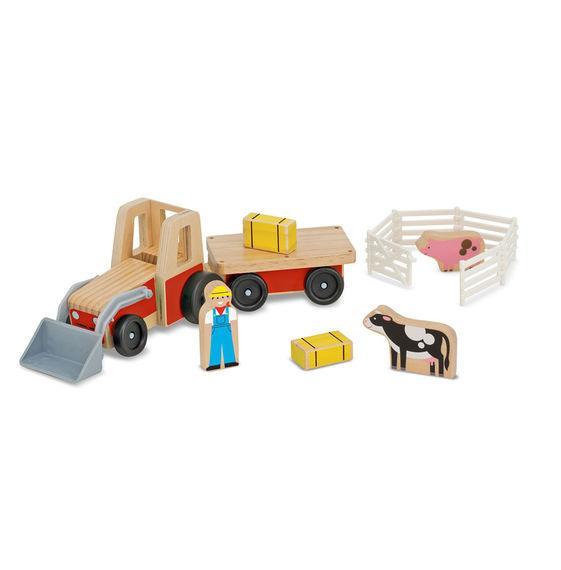 รถ Farm Tractor ไม้