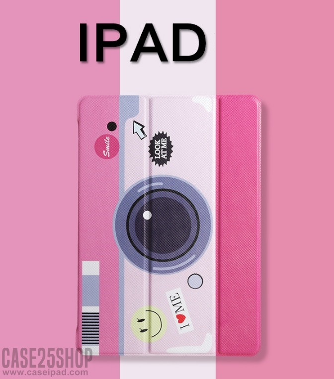 เคสการ์ตูนหลังใส Slim Smart Cover (เคส iPad Air 2)