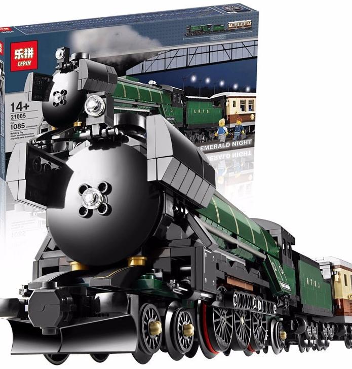 เลโก้จีน LEPIN 21005 ชุด Emerald Night Train