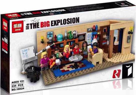 เลโก้จีน LEPIN 16024 ชุด The Big Bang Theory