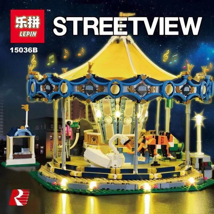 เลโก้จีน LEPIN 15036B ชุด Carousel