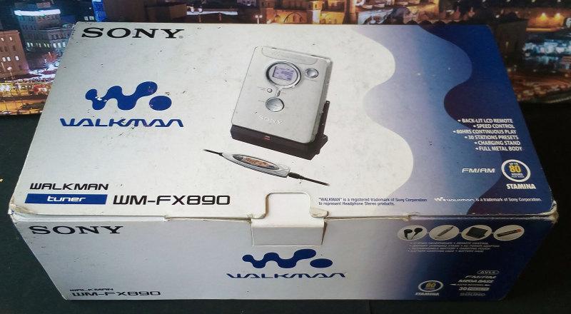 Sony WM-FX890 ของใหม่ มือหนึ่ง