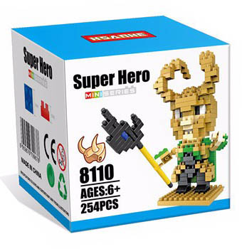 Nanoblock : Loki