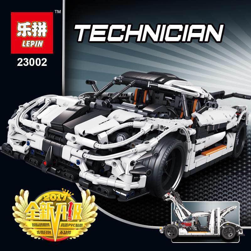 เลโก้จีน LEPIN 23002 ชุด MOC- Koenigsegg One:1