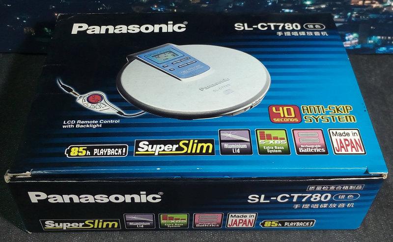 Panasonic SL-CT780 มือหนึ่ง