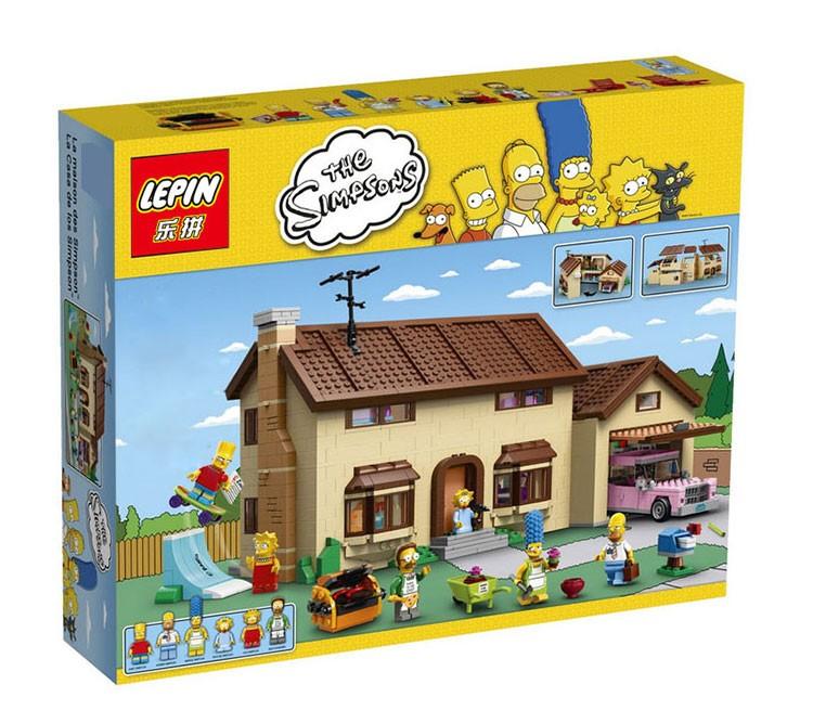 เลโก้จีน LEPIN 16005 ชุด The Simpsons™ House