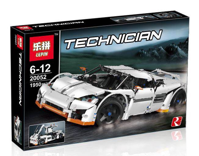 เลโก้จีน LEPIN 20052 ชุด Predator Super Car (MOC-2811)
