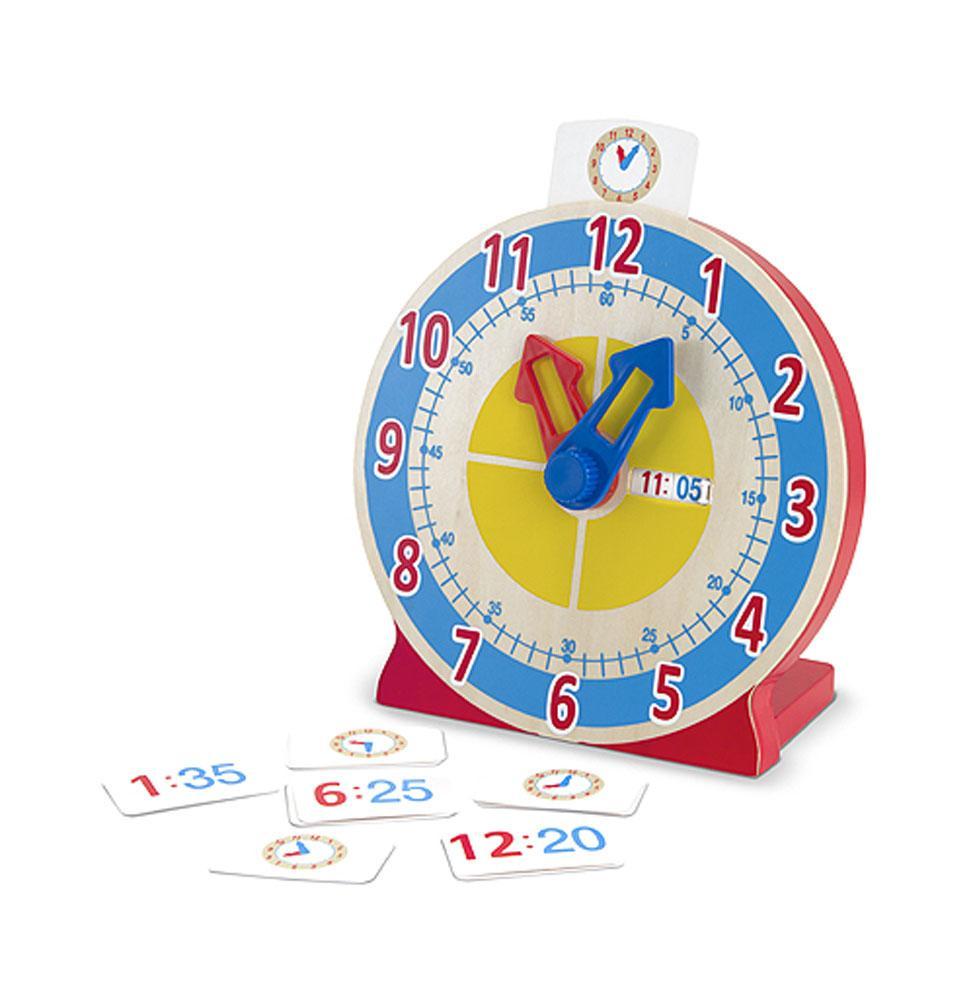 นาฬิกาจำลองMelissa and doug Turn & Tell Wooden Clock