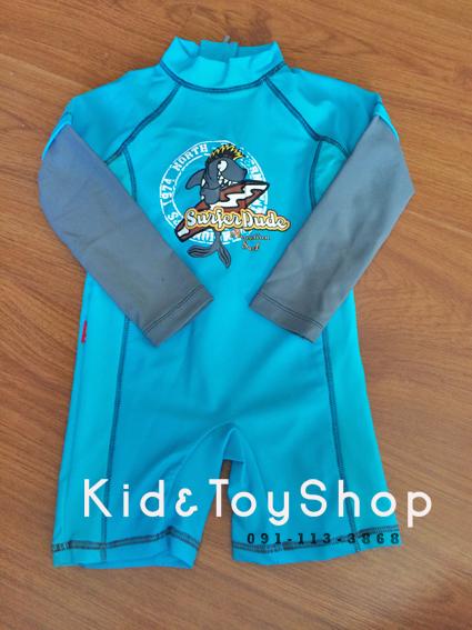 ชุดว่ายน้ำเด็กเล็ก ++พร้อมส่ง++ สีฟ้า