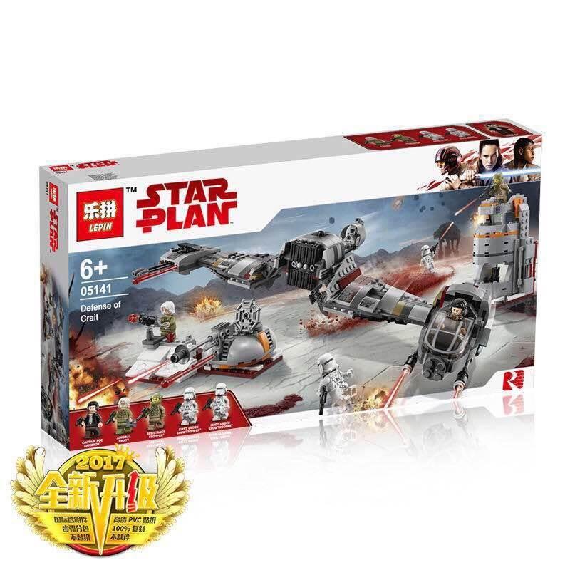 เลโก้จีน LEPIN 05141 Star Wars ชุด Defense of Crait