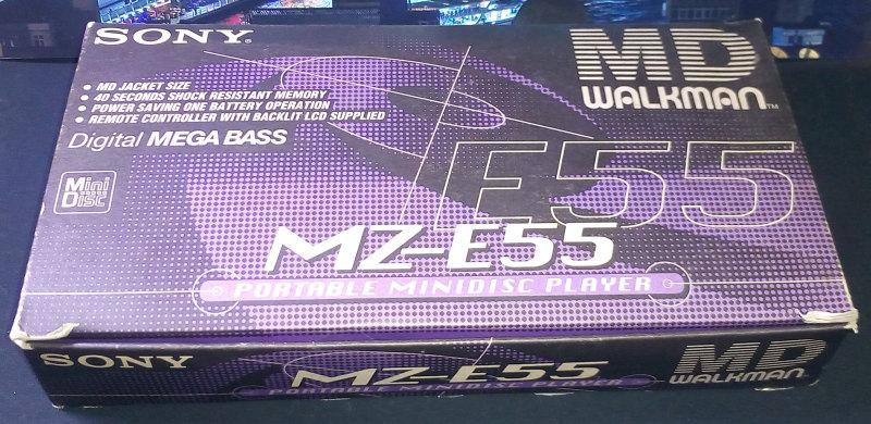 Sony MZ-E55 ของใหม่ มือหนึ่ง