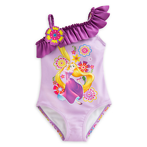 ชุดว่ายน้ำ Rapunzel Swimsuit for Girls [USA]