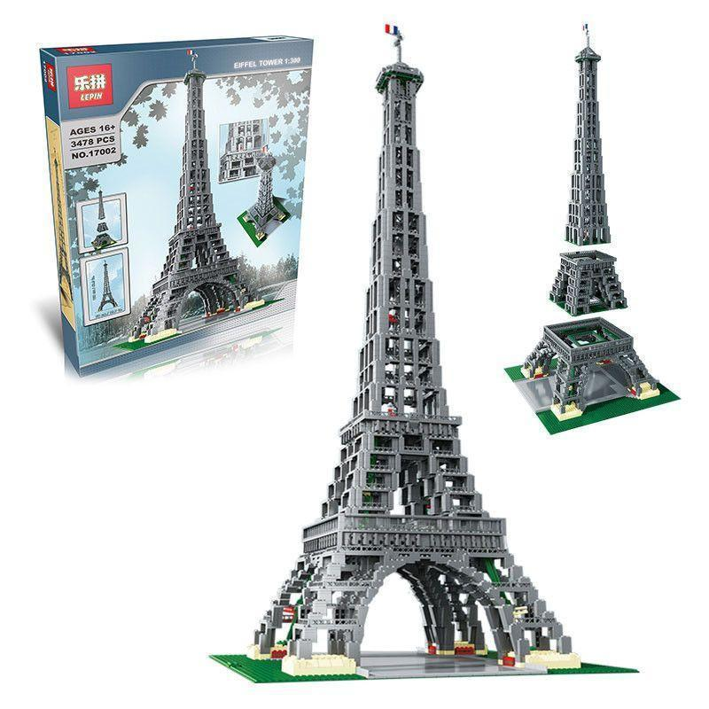 LEGO Creator เลโก้จีน LEPIN 17002 ชุด The Eiffel Tower