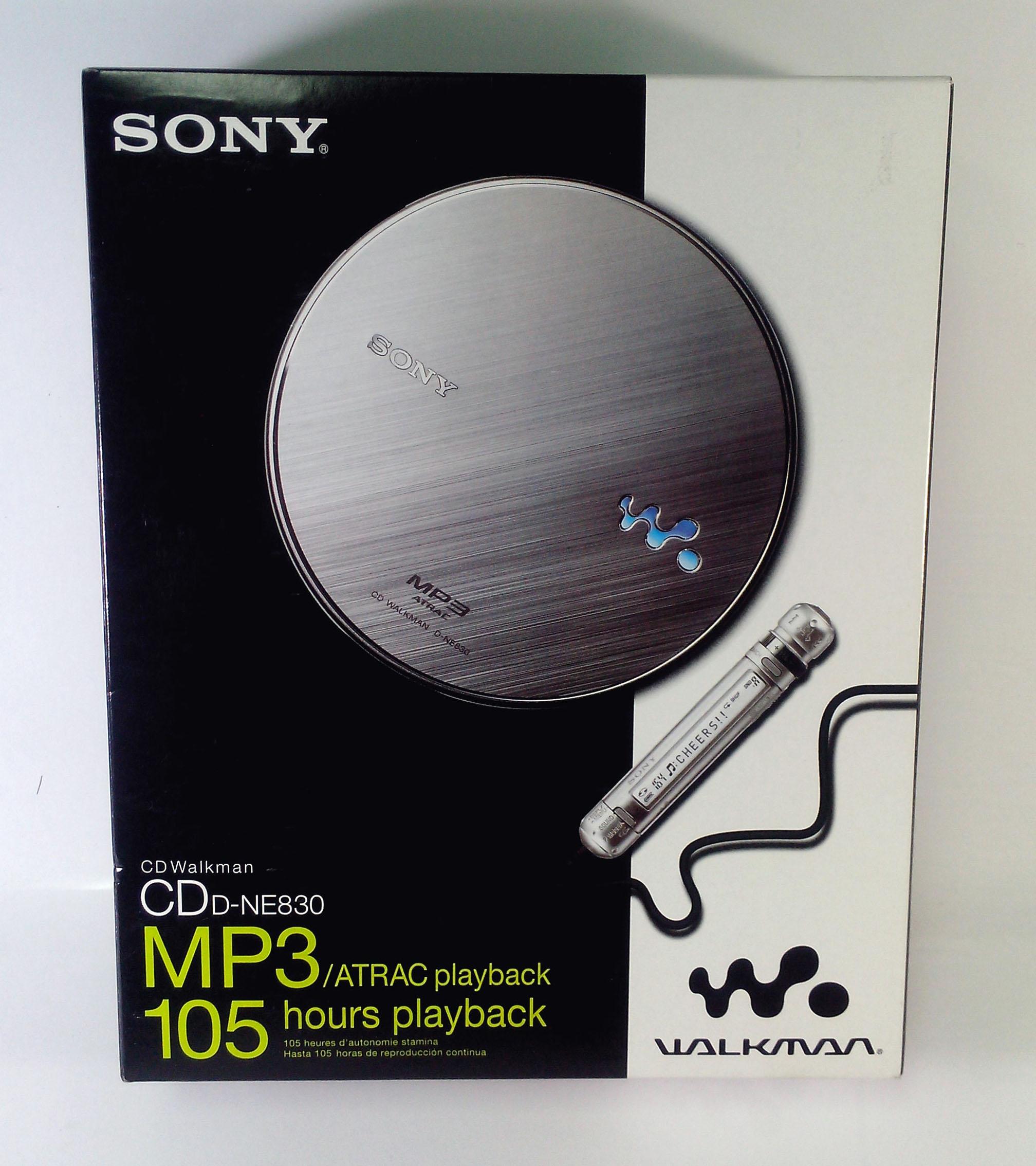 ขายแล้ว Sony D-NE830 มือหนึ่ง