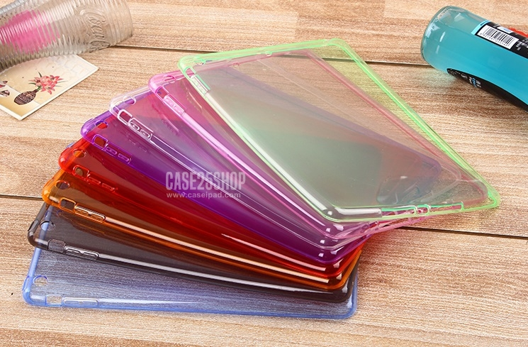 เคสซิลิโคนใส สีต่างๆ (เคส iPad Air 1)