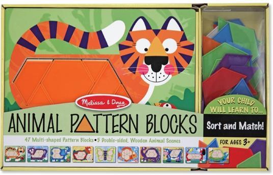 Melissa and doug Animal Pattern Blocks