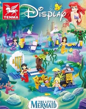 เลโก้เจ้าหญิง เลโก้จีน ชุด เจ้าหญิงเงือกน้อย 4 กล่อง