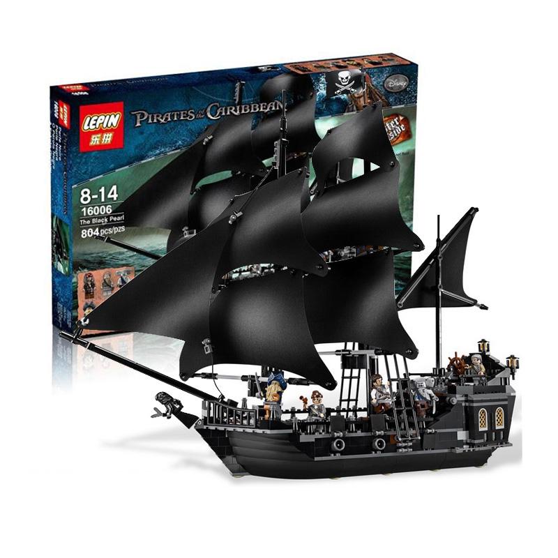 เลโก้จีน LEPIN 16006 ชุด The Black Pearl Pirate of the Caribbean