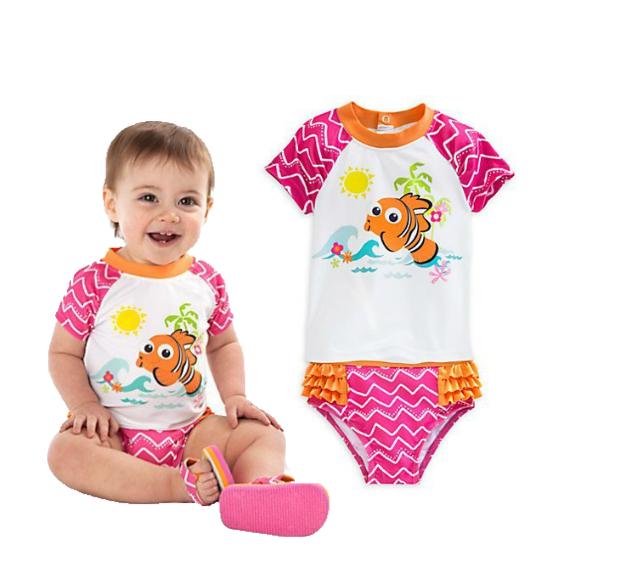 ชุดว่ายน้ำเด็ก Nemo Rash Guard Swimsuit for Baby [USA]