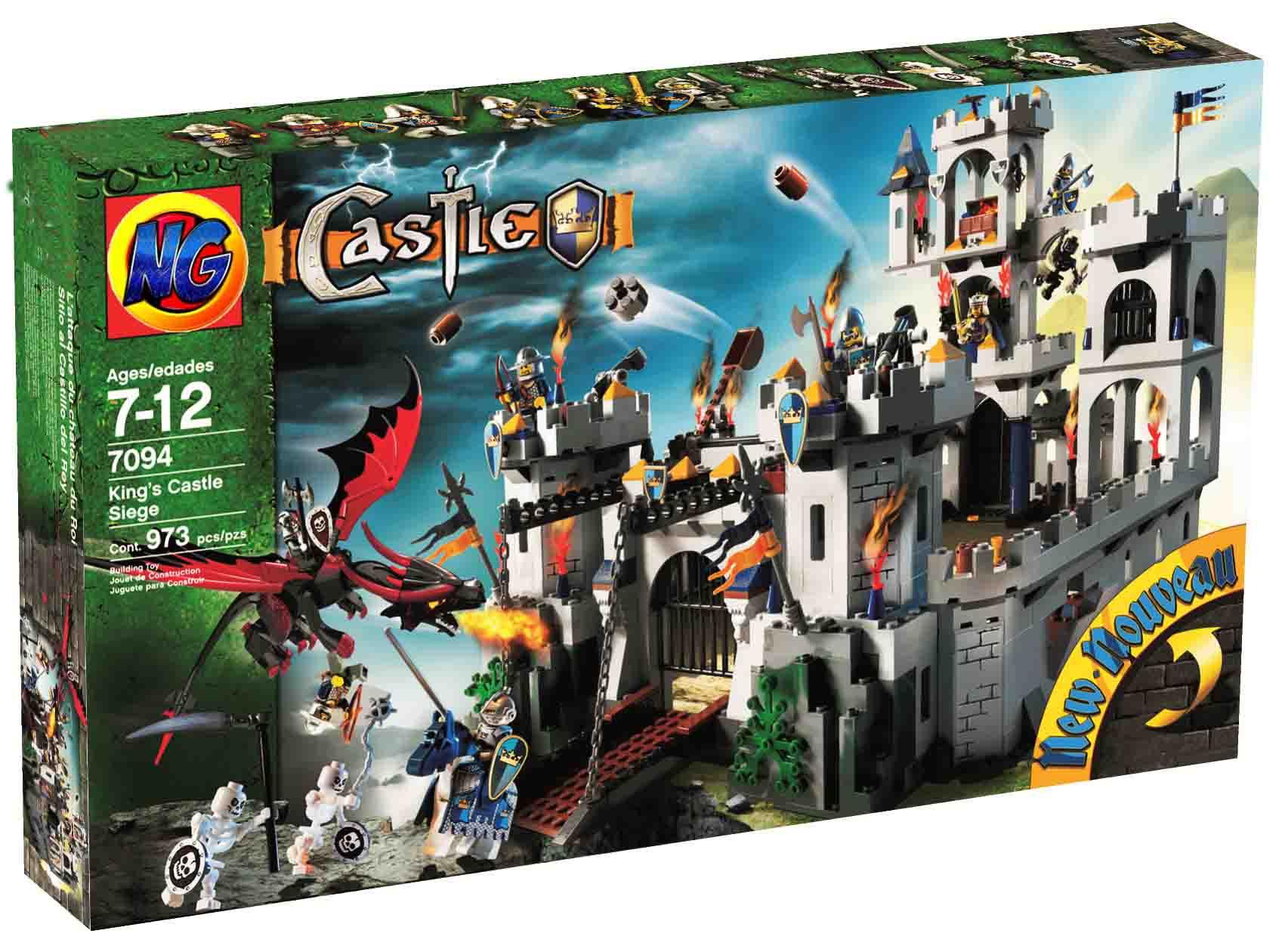 เลโก้จีน LEPIN 16017 ชุด Lego King's Castle Siege [ LEGO Castle ]