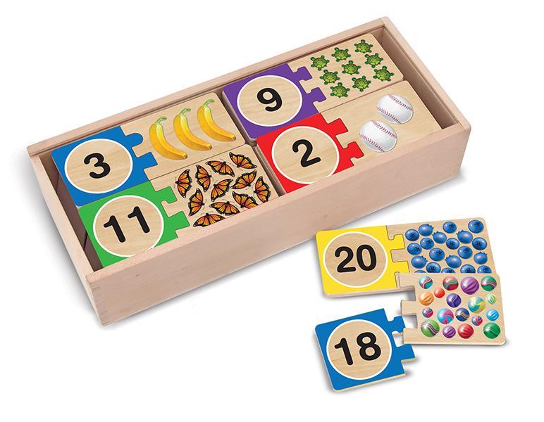 จิ๊กซอไม้ตัวเลข Self-Correcting Number Puzzle