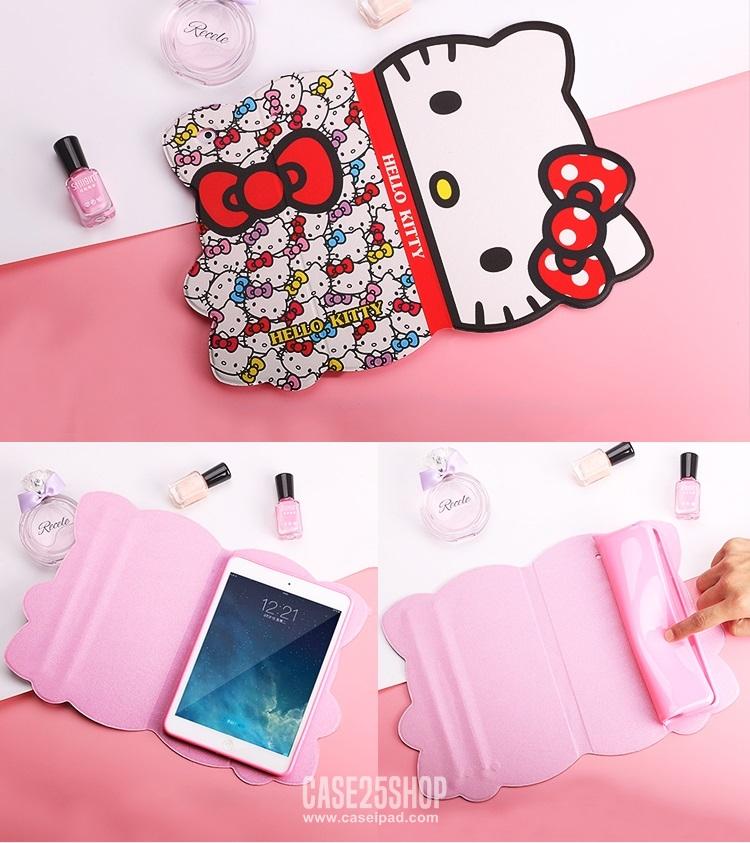 เคสการ์ตูนคิตตี้ น่ารักมากๆ (เคส iPad Air 2)