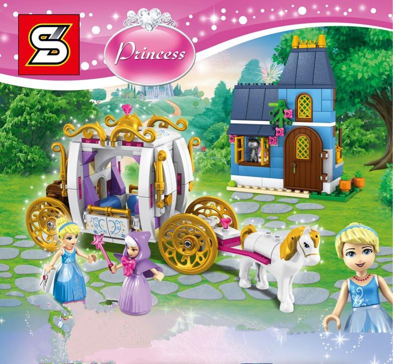 เลโก้จีน SY 949 ชุด Cinderellas Enchanted Evening ** Restock **