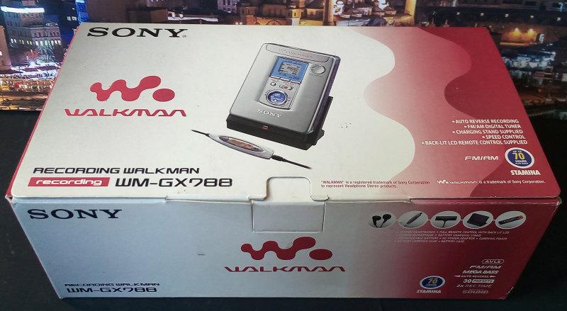 Sony WM-GX788 ของใหม่ มือหนึ่ง